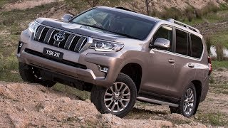 2018 Toyota Land Cruiser Prado - Offroad Test Drive