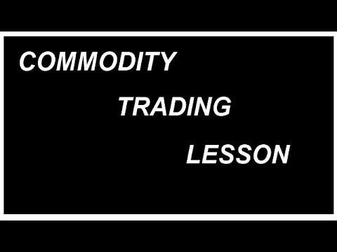 Commodity trading lesson Chennai Tamil Nadu India