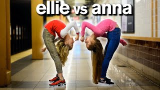ABC ACRO DANCE CHALLENGE ft Dance Moms Elliana Walmsley vs Anna McNulty