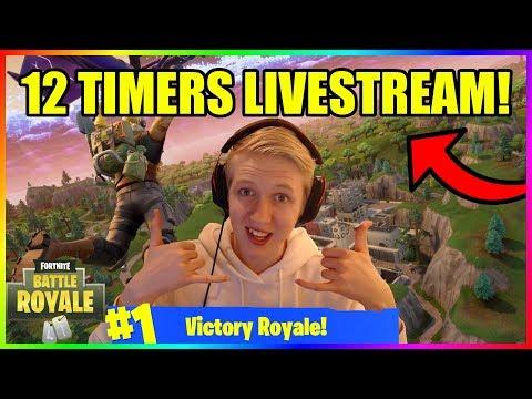 12 TIMERS FORTNITE LIVESTREAM! (DANSK - PART 1) - Hunter