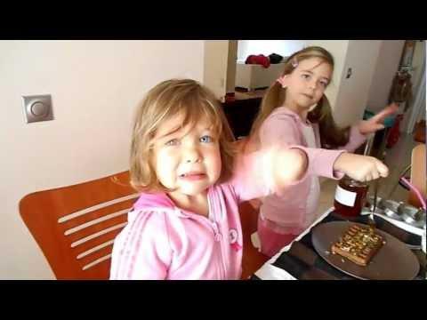 Παιδικό πρωινό με βάφλες