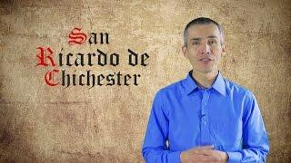 SANTO DEL DÍA - 03 DE ABRIL - SAN  RICARDO DE CHICHESTER