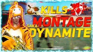 DYNAMITE COMMENTRY ON DYNAMITE GAMEPLAY OF SAKADYNAMITE  || PRO GAMEPLAY ||NO GUN SKIN MODE SQUAD