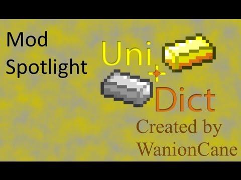 Mod Spotlight - UniDict