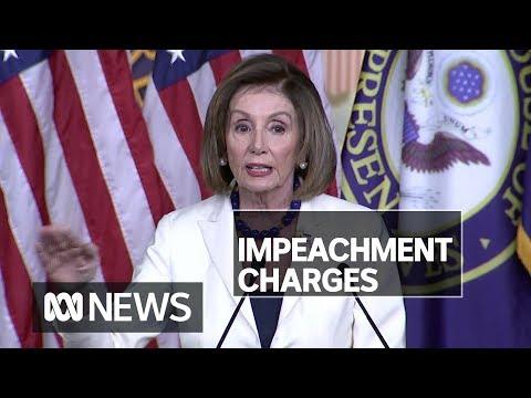 US House Speaker Nancy Pelosi says Donald Trump impeachment to go ahead | ABC News