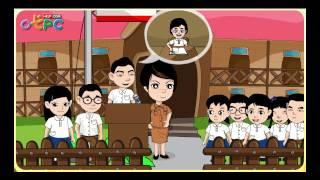 สื่อการเรียนการสอน การเลือกประธานนักเรียน ป.3 สังคมศึกษา
