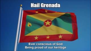 National Anthem of Grenada (Hail Grenada) - Nightcore Style With Lyrics