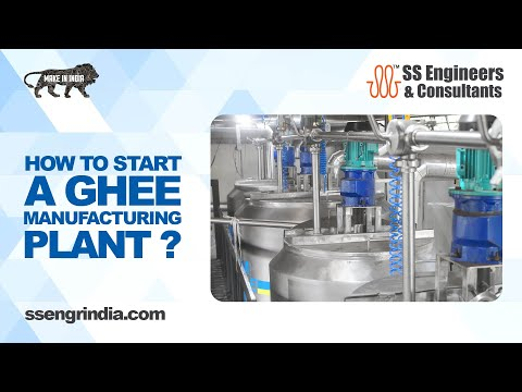 Ghee Plant Machinery