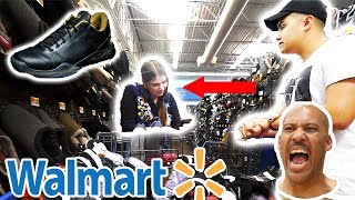 ASKING WALMART FOR $500 LONZO BALL SHOES!! SHE BUSTED ME!!