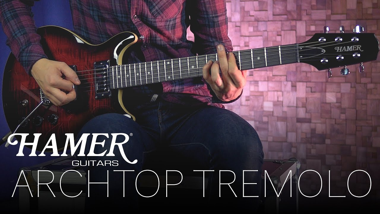 archtop tremolo video