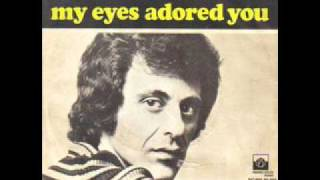 Frankie Valli - My Eyes Adored You