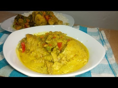 Coconut Curry Sauce Recipe: How make Coconut Curry Sauce with Chicken