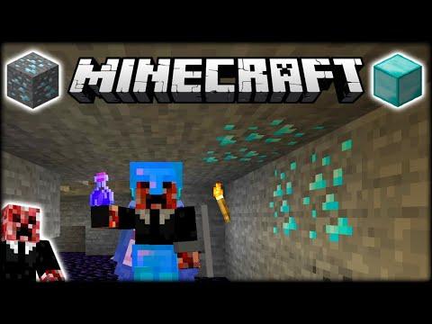 LUCKIEST MINECRAFT DIAMOND CAVING TRIP EVER?!   Let's Play Minecraft Survival