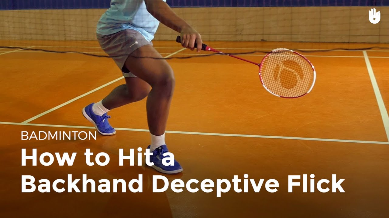 how to change forehand grip to backhand grip in badminton