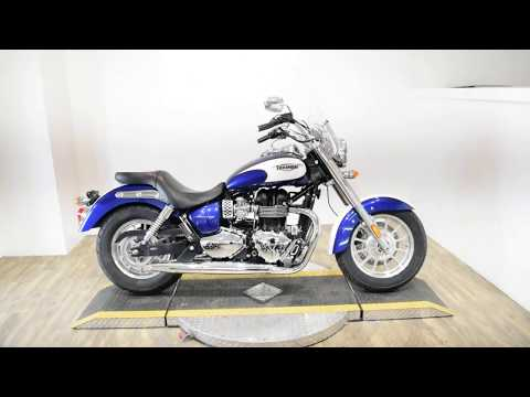 2013 Triumph America in Wauconda, Illinois - Video 1