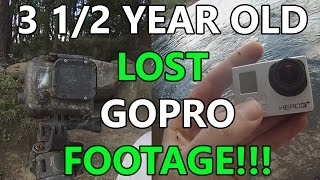 LOST GoPro FOOTAGE 3 1/2 YEARS IN THE RIVER!!!! (long version)