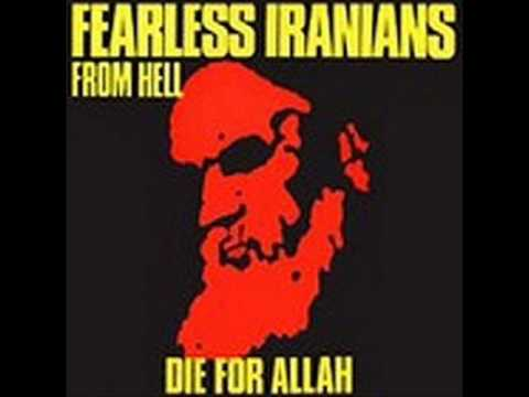 Fearless Iranians From Hell - Die For Allah online metal music video by FEARLESS IRANIANS FROM HELL