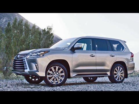 ► 2016 Lexus LX 570 facelift - Footage
