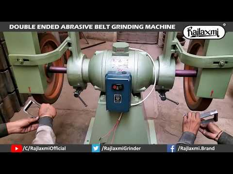 Heavy Duty Abrasive Belt Grinder Lancer Machine