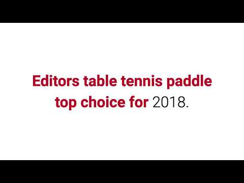 Discover The 10 Best Table Tennis Paddles In 2018