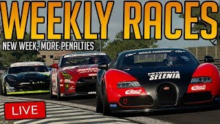 Gran Turismo Sport: New Load of Weekly Races   AND GETTING PENALTIES OBVIOUSLY