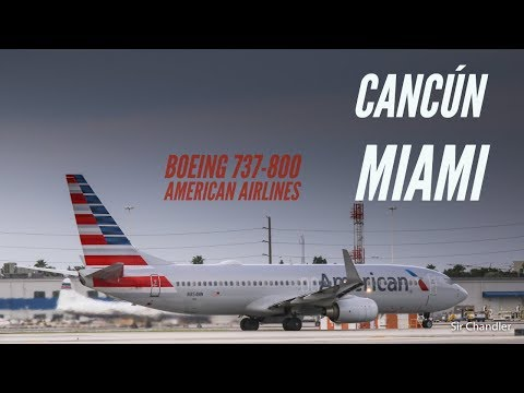 Download Vuelo Cancún Miami con American Airlines Mp4 HD Video and MP3