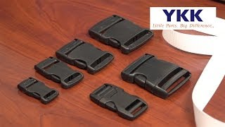 YKK® Side Release Buckle - Heavy Duty