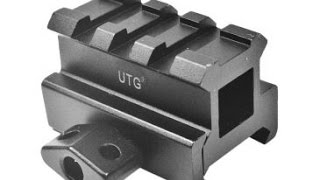 UTG Medium Profile Riser MNT-RS08S3 Review & install on the Bushnell TRS-25