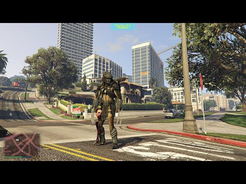 The Brutal Predator Gta 5 (Part 3) Spine Ripping Victims