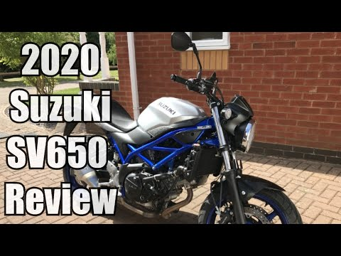 2020 Suzuki SV 650 at Shreveport Cycles