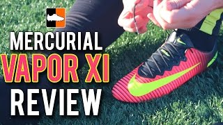 nike vapor xi review spark brilliance mercurial 11 football boots