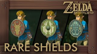 Zelda Breath of the Wild - Rare Shield Locations (Hunter's, Fisherman's & Emblazoned Shield)