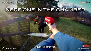 Nerf meets Call of Duty: One in the Chamber | First Person at 60fps!