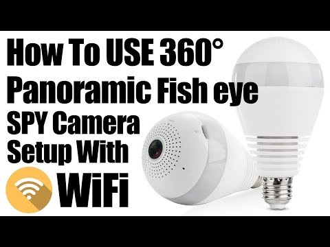 Download Lamp Bulb Wifi Ip Camera App V380 Configuration For Iphone