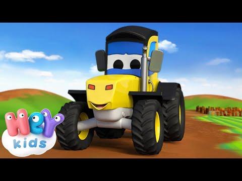 Едет Трактор - Мультик про машинки - Развивающие мультики