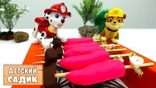Видео про игрушки: Щенячий патруль и Тетя Маша
