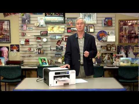 Understanding the Ink Level Display on the Ricoh SG 3110DN Printer -
