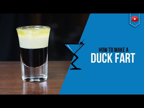 Duck Fart Shot – How to make a Cocktail Recipe by Drink Lab (Popular)