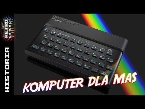 ???????? Od Komputerowej Pustyni do ZX Spectrum - Maszyna Sinclara w Polsce i nie tylko
