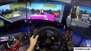 assetto corsa / drifting on my old wheel/ day 10