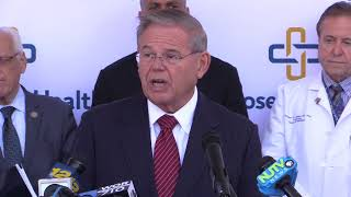 Menendez Praises Legislation to Help Curb Opioid Epidemic