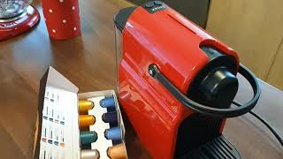 Nespresso-Krups XN 1005 Inissia unboxing and first use