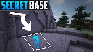 Minecraft: How To Build A Secret Base Tutorial (#3)