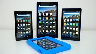 Amazon Fire 7, Fire HD 8 & Fire HD 10 Tablets Complete Comparison (2019)