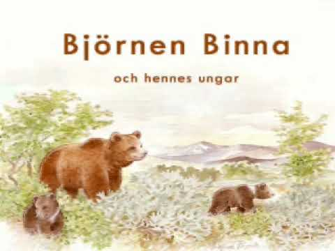 Björnen Binna och hennes ungar