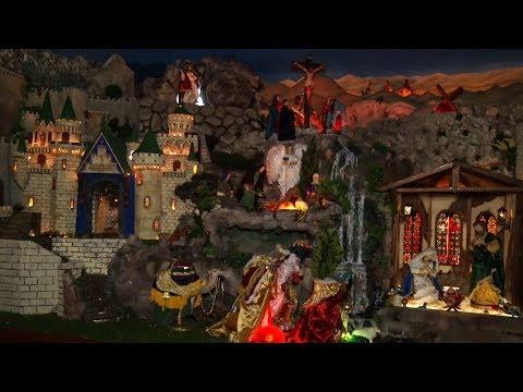 Ainda dá tempo de visitar o presépio animado dos Arautos do Evangelho