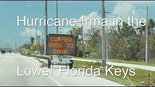 Driving Down the Florida Keys after Hurricane Irma