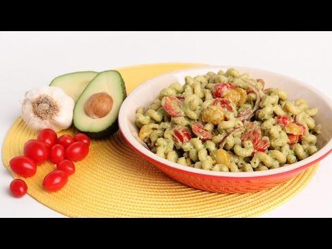 Creamy Avocado Pasta Recipe – Laura Vitale – Laura in the Kitchen Episode 928