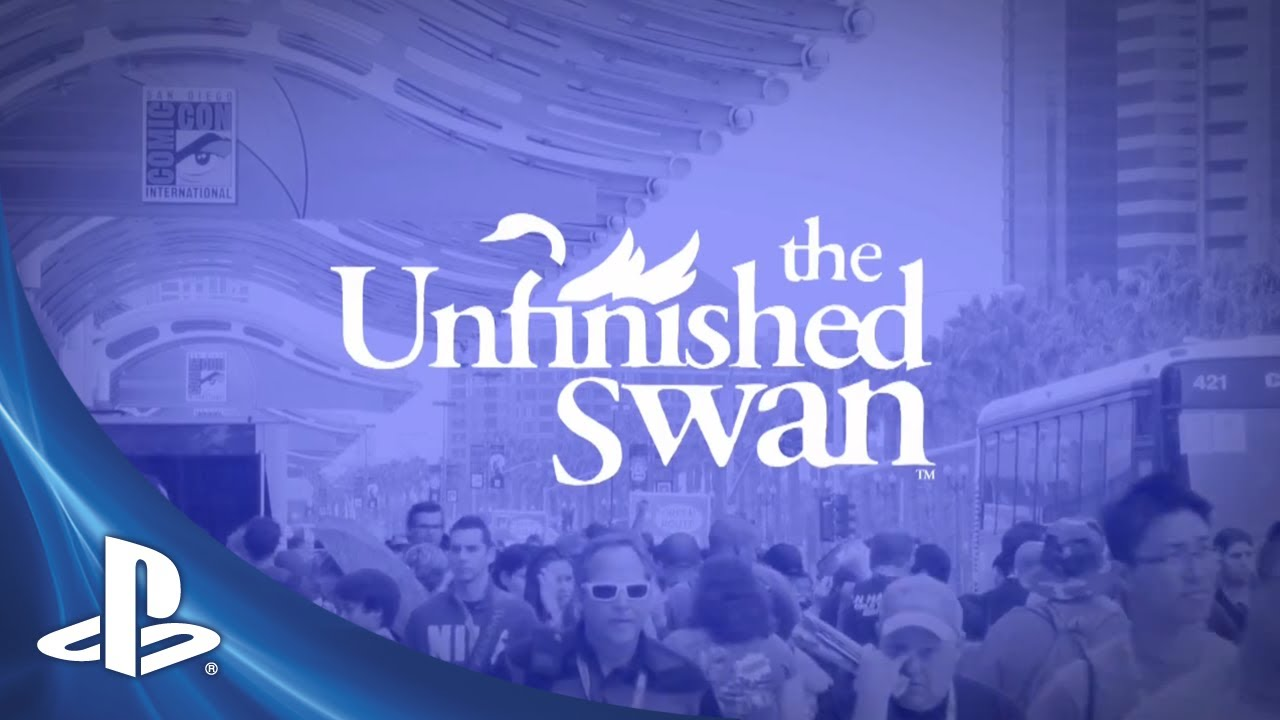 Assista ao Debate de The Unfinished Swan na Comic-Con