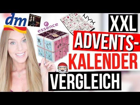 XXL ADVENTSKALENDER 2016 TEST aus der DROGERIE! | LaurenCocoXO